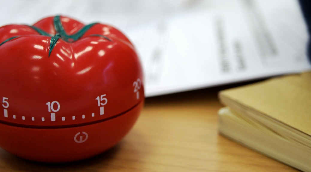 How to Get Twice Done in Half the Time: The Pomodoro Technique